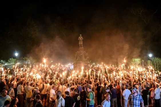 White nationalist rally that turned deadly in Charlottesville, Virginia Source of image: Pinterest